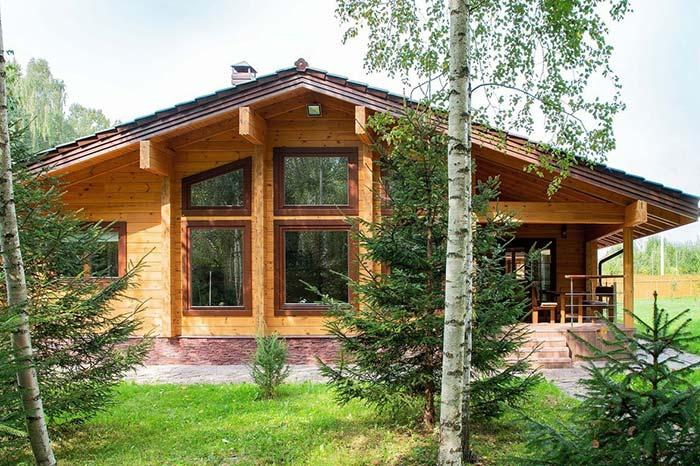 Klasik Kütük Ev