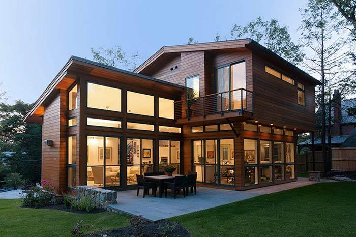 Modern Ahşap Villa Modeli