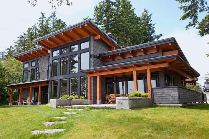 370 m² Ahşap Villa